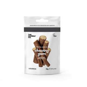 Chewing gum naturels Réglisse The Humble Co