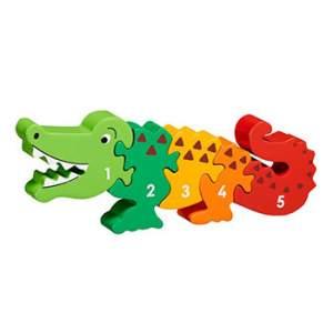 Puzzle crocodile 1-5 en bois Lanka Kade