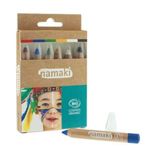Kit 6 crayons de maquillage Namaki