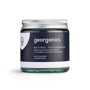 Dentifrice en poudre naturelle Georganics - Charbon actif
