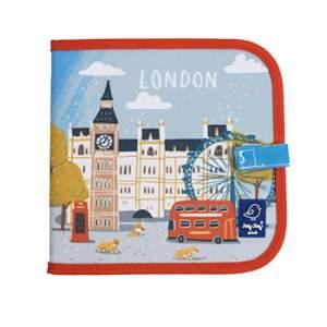 Cahier ardoise illustré Jaq Jaq Bird - Cities of wonder Londres