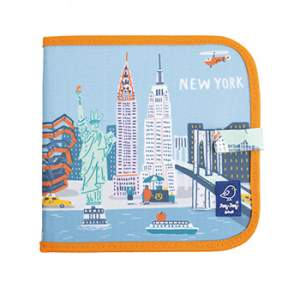 Cahier ardoise illustré Jaq Jaq Bird - Cities of wonder New York