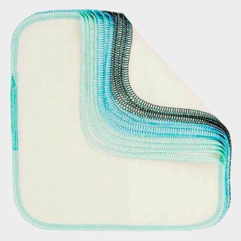 Pack 12 lingettes lavables Imse Vimse - Bleu