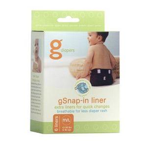 """Lot de 6 poches supplémentaires """"gPant pouch"""" gDiapers"""