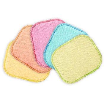 Lot de 5 carrés bébés lavables - Les tendances d'Emma