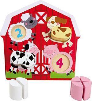 Puzzle Animaux de la ferme Legler