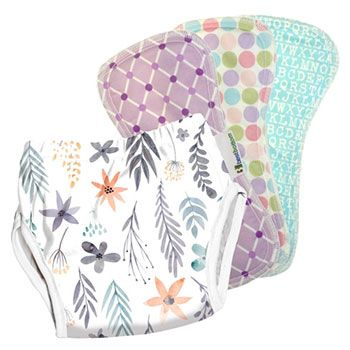Pack Culotte d'apprentissage + 3 inserts Best Bottom Diaper