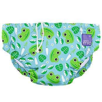 Maillot de bain pois bleu Bambino Mio Leap Frog