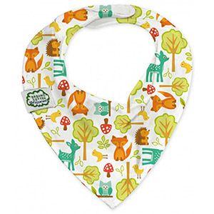 Bavoir bandana en coton bio Amis de la forêt Imse Vimse