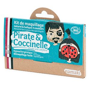 Kit 3 couleurs Pirate & Coccinelle Namaki