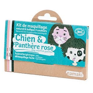 Kit 3 couleurs Chien & Panthère rose Namaki