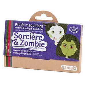 Kit 3 couleurs Sorcière & Zombie Namaki