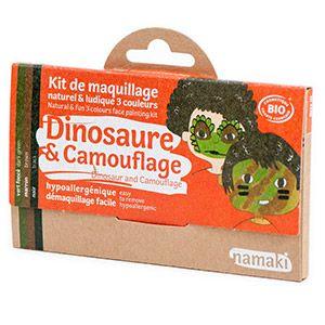 Kit 3 couleurs Dinosaure & Camouflage Namaki