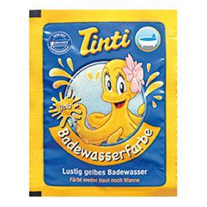 Sachet couleur pour le bain jaune Tinti