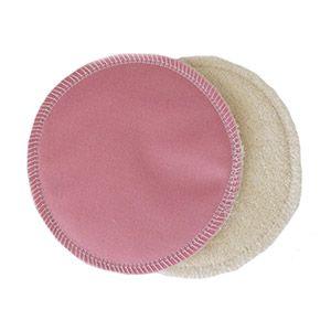 Coussinets d'allaitement lavables Lulu Nature Rose
