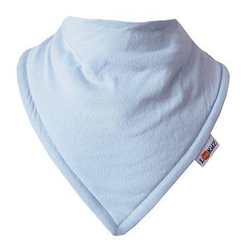 Bavoir bandana Lookidz Bleu ciel