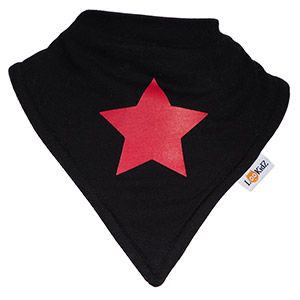 Bavoir bandana Lookidz Etoile rouge