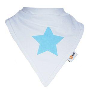 Bavoir bandana Lookidz Etoile bleue