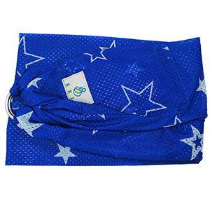 Porte-bébé Sling Sukkiri Bleu étoile blanche