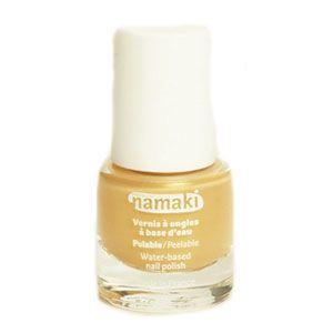 Vernis à ongles pelable à base d'eau Or Namaki