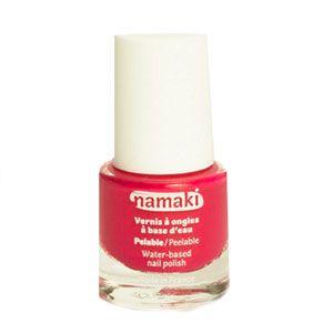 Vernis à ongles pelable à base d'eau Corail Namaki
