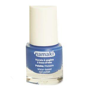Vernis à ongles pelable à base d'eau Bleu Namaki