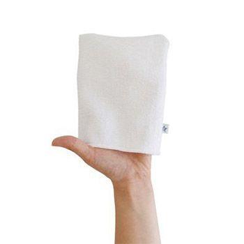 3 petits gants de toilette en microfibre Hamac