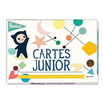 Cartes photos souvenirs Junior (1-4 ans) Milestone