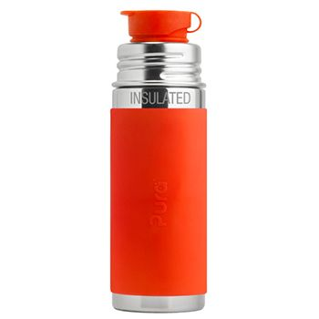 Gourde Sport Inox Isotherme 260ml Pura Orange