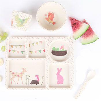 Coffret de vaisselle pour enfant Love Mae - L'heure du thé