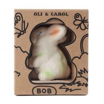 Bob le lapin latex d'hévéa Oli & Carol