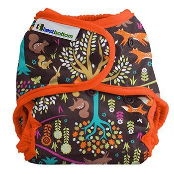 Culotte Best Bottom Diaper à Pressions modèle Coton