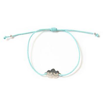 Bracelet Cloud en argent - Mint Zü