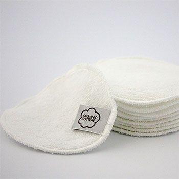 Lingettes démaquillantes lavables Imse Vimse - Contour blanc