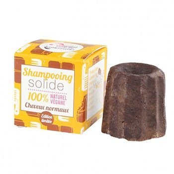 Shampooing solide pour cheveux normaux Lamazuna Chocolat