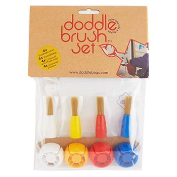 Pack Doodle Brush Doodle Bags