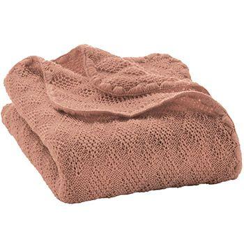 Couverture en laine merinos Disana Poudre