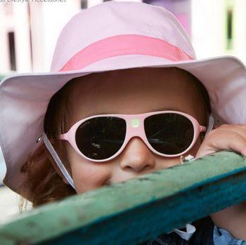 Chapeau Anti-UV réversible Panama Pink KI ET LA