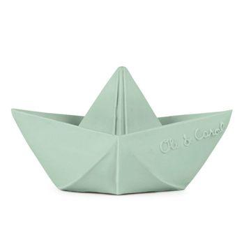Origami boat Mint Oli & Carol