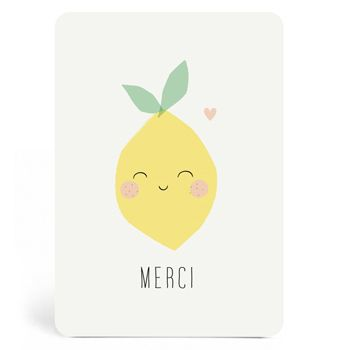 Carte merci Citron Zü