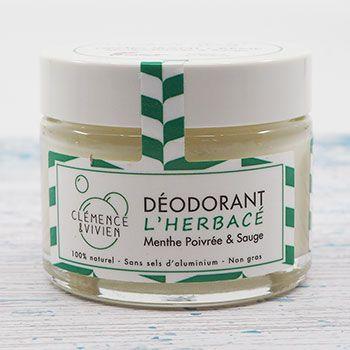 Déodorant naturel L'Herbacé Clémence et Vivien
