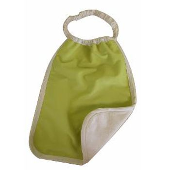 Serviette maternelle en coton bio Lulu Nature - Vert