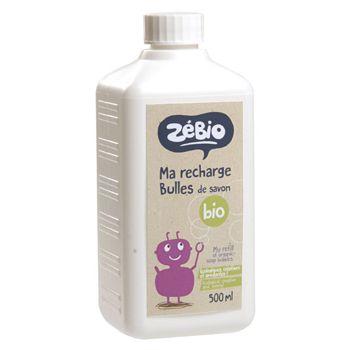 Recharge bulles savon bio 500ml - Zébio