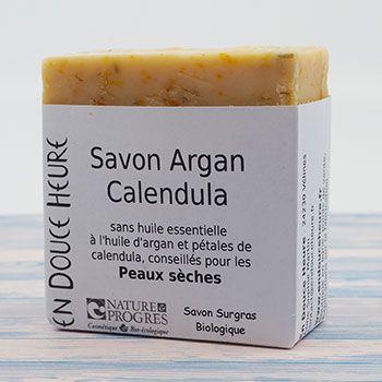 Savon Bio Argan-Calendula En Douce Heure