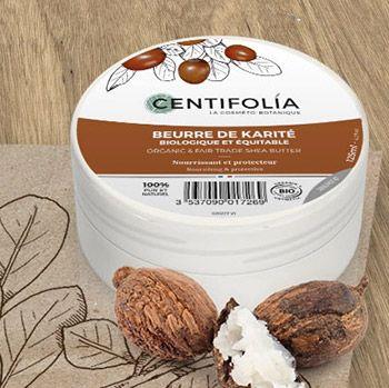 Beurre de Karité bio Centifolia