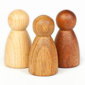3 Nins en bois Grapat