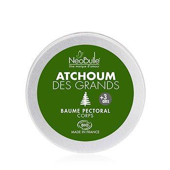 Baume pectoral confort respiratoire Atchoum pour les Grands Néobulle