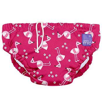 Maillot de bain bébé Bambino Mio Pink Flamingo