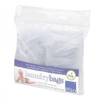 Lot de 2 filets de lavage pour couches lavables Bambino Mio