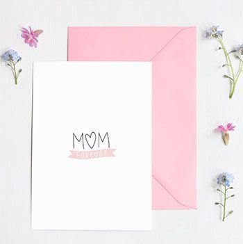 Carte MOM forever Zü